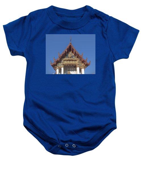 Wat Amarintaram Ubosot Gable Dthb1509 Baby Onesie