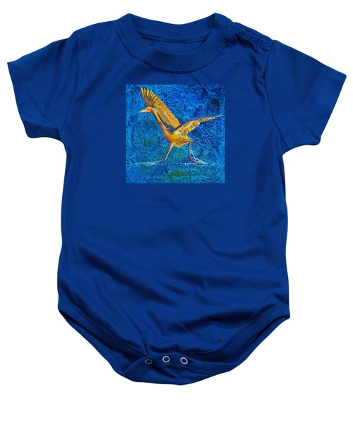 Water Run Baby Onesie