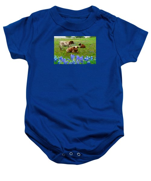 Da157 Winkin Blinkin And Nod Daniel Adams  Baby Onesie