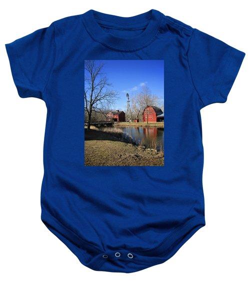 Bonneyville Mill Baby Onesie