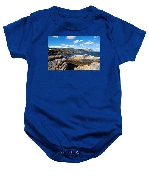 Hermanus Coastline Baby Onesie