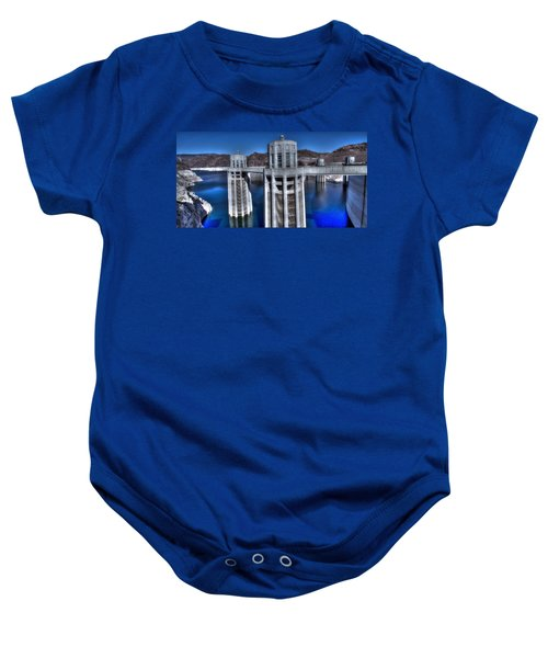 Lake Mead Hoover Dam Baby Onesie