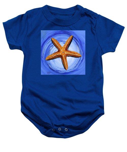 Star Of Mary Baby Onesie