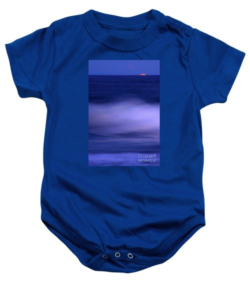 The Red Moon And The Sea Baby Onesie
