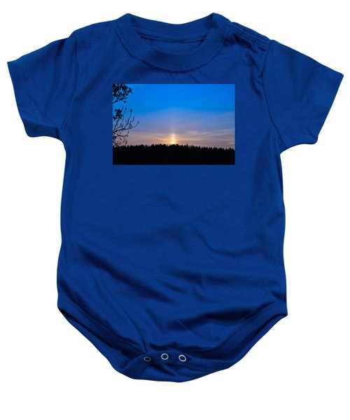 The Road To The Sky Baby Onesie