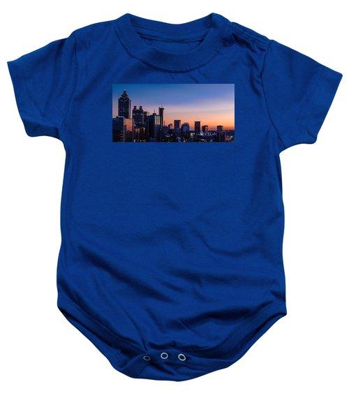 Atlanta Sunset Baby Onesie
