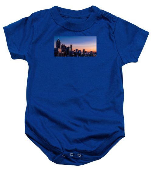 Atlanta Sunset Baby Onesie
