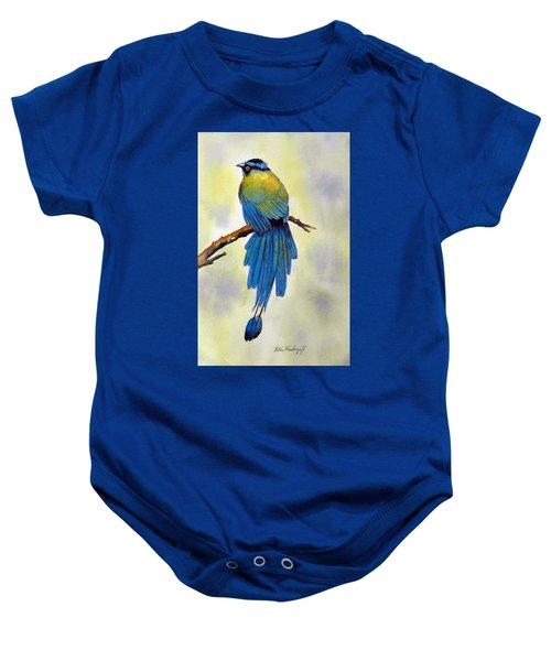 Bird Of Paradise Baby Onesie