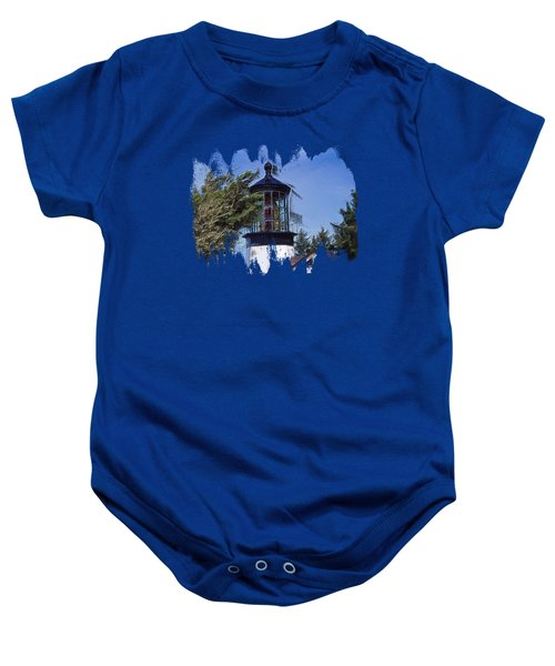 Cape Meares Lighthouse Baby Onesie