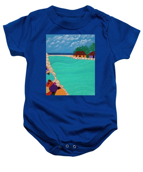 Curacao Lagoon Baby Onesie