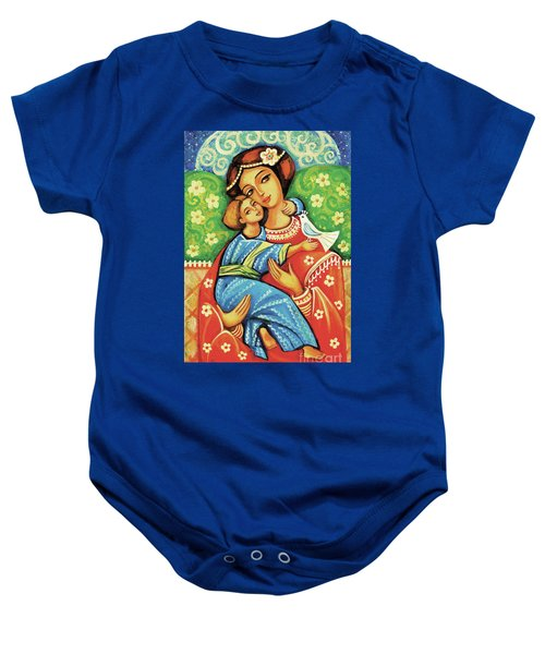 Madonna And Child Baby Onesie