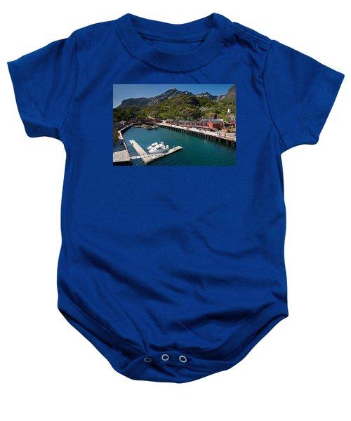 Nusfjord Fishing Village Baby Onesie