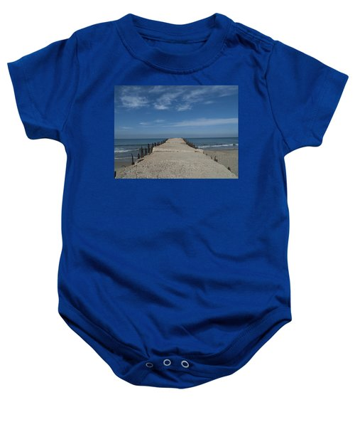 Tel Aviv Old Port 3 Baby Onesie