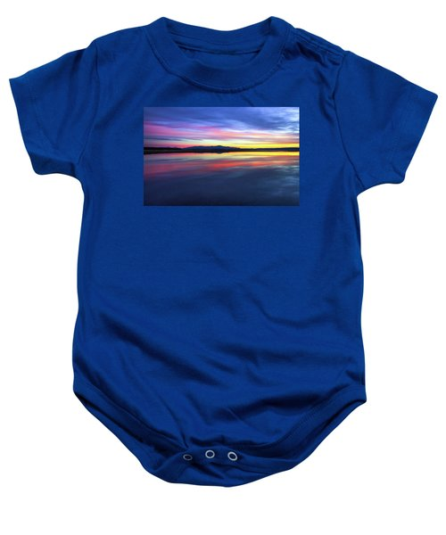 Lake Winnipesaukee - Layers Baby Onesie