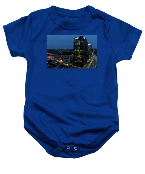 17th Street Skyline Baby Onesie