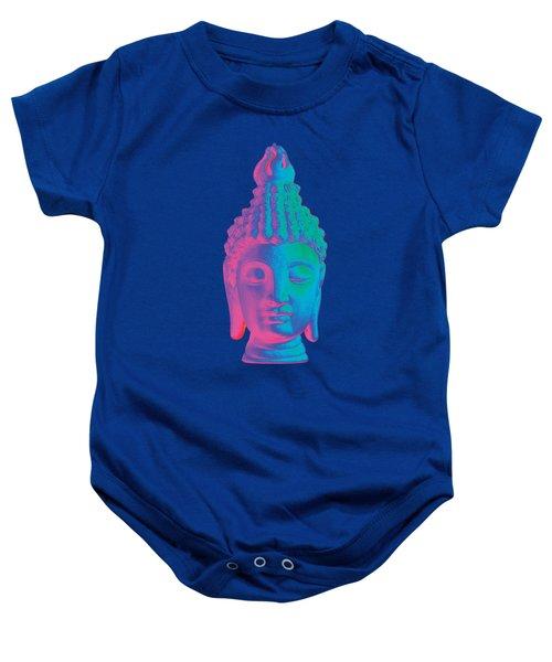 colorful Buddha - Sukhothai Baby Onesie