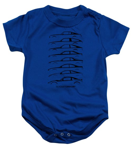 Japanese Coupe Silhouettehistory Baby Onesie