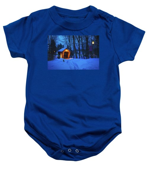 Tannery Hill Bridge Baby Onesie