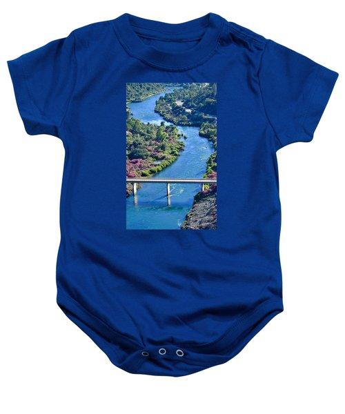 Shasta Dam Spillway Baby Onesie