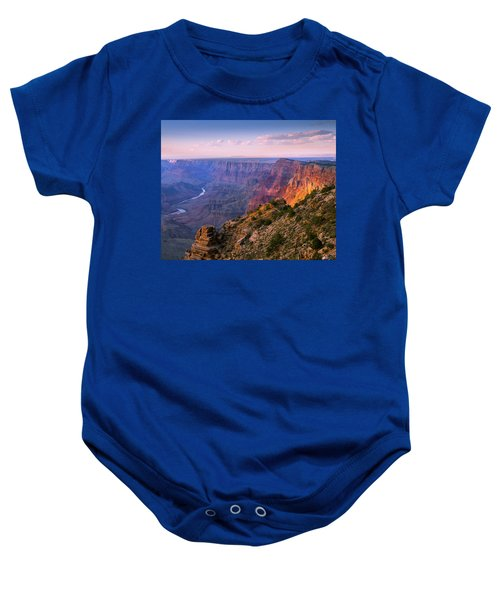 Canyon Glow Baby Onesie