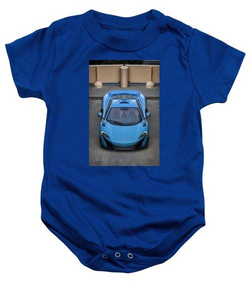 #mclaren #675lt #print Baby Onesie