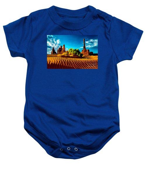 Sand Dune Baby Onesie