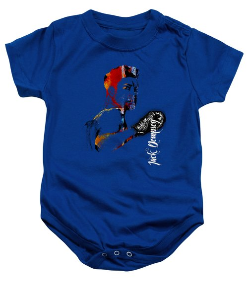 Jack Dempsey Collection Baby Onesie by Marvin Blaine