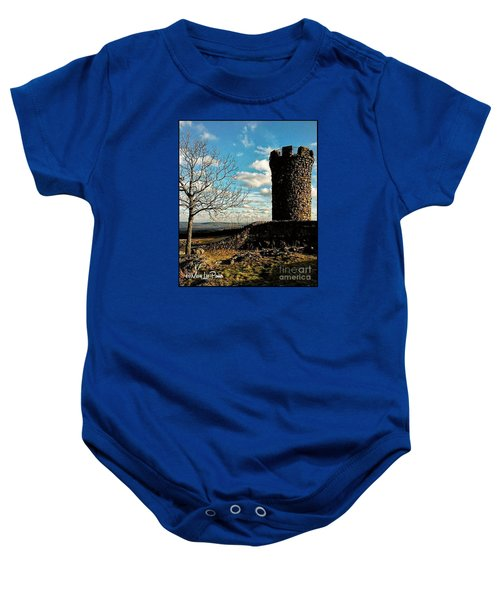 A Day At  Craigs  Castle   Baby Onesie