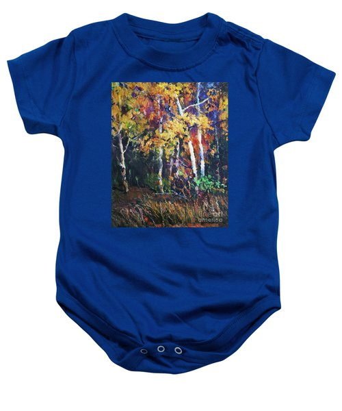 A Glance Of The Woods Baby Onesie