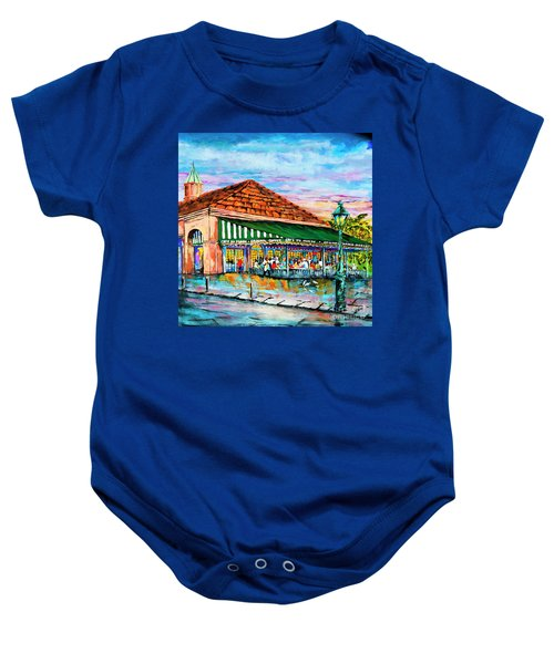 A Morning At Cafe Du Monde Baby Onesie