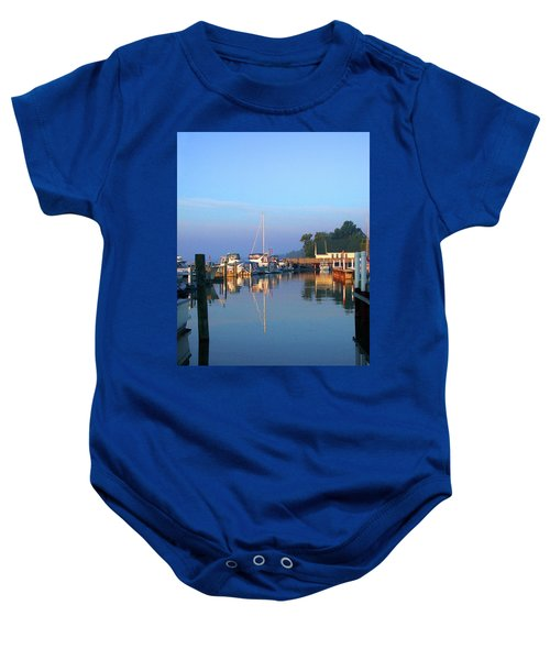 A Perfect Tawas Morning Baby Onesie