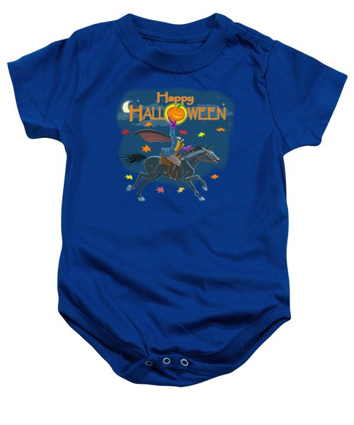 A Sleepy Hollow Halloween Baby Onesie