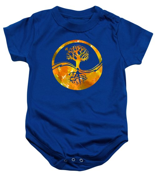 Baby Onesie featuring the photograph Abstract I by Christina Rollo