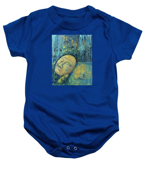 Ace Of Coins Baby Onesie