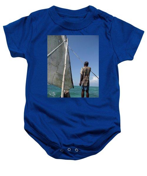 Afternoon Sailing In Africa Baby Onesie