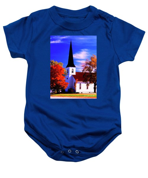Algonquin Rd Church St Johns United  Baby Onesie