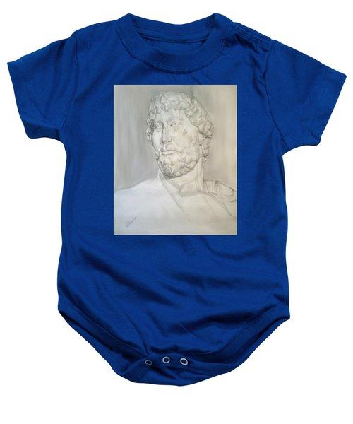 Ancient Greek Statue Baby Onesie