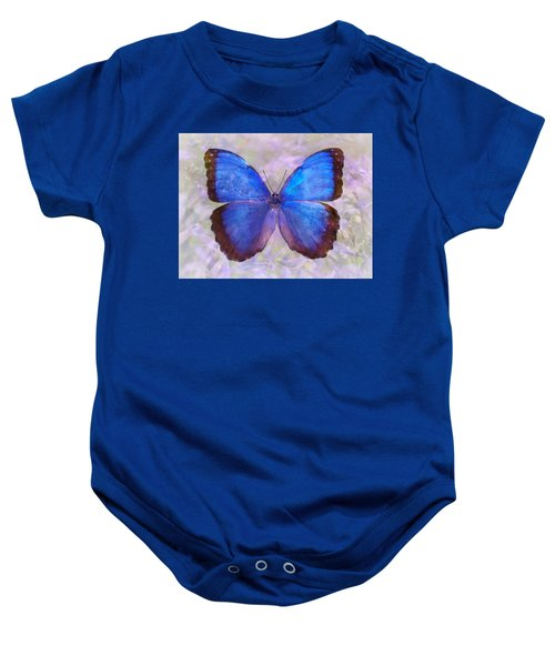 Angel In Blue Baby Onesie