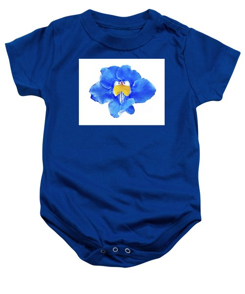 Art Blue Beauty Baby Onesie