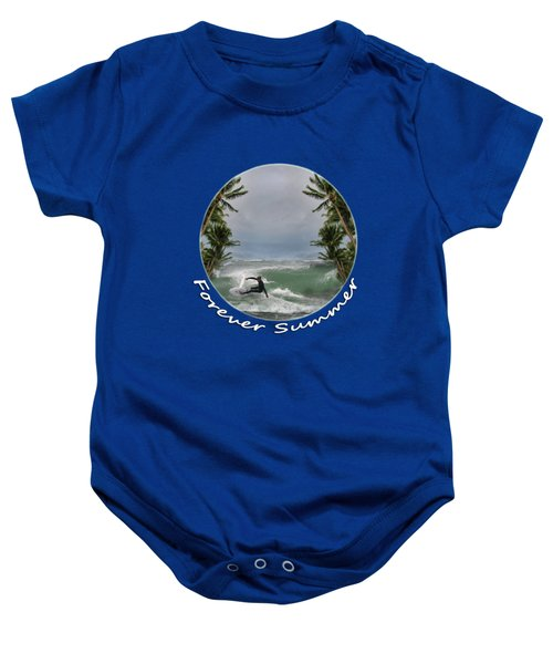 Baby Onesie featuring the photograph Forever Summer 2 by Linda Lees