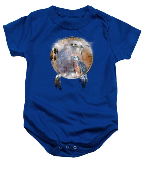 Dream Catcher - Hawk Spirit Baby Onesie