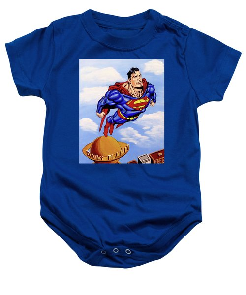 Superman Baby Onesie