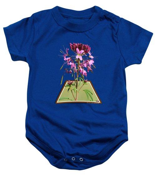 Rocky Mountain Bee Plant Baby Onesie
