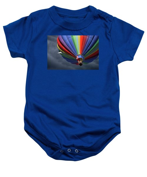 Ascending To The Storm Baby Onesie