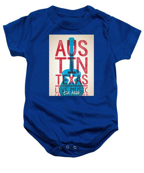 Austin Texas - Live Music Baby Onesie