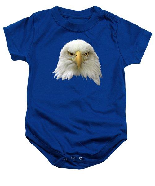 Bald Eagle Baby Onesie by Shane Bechler