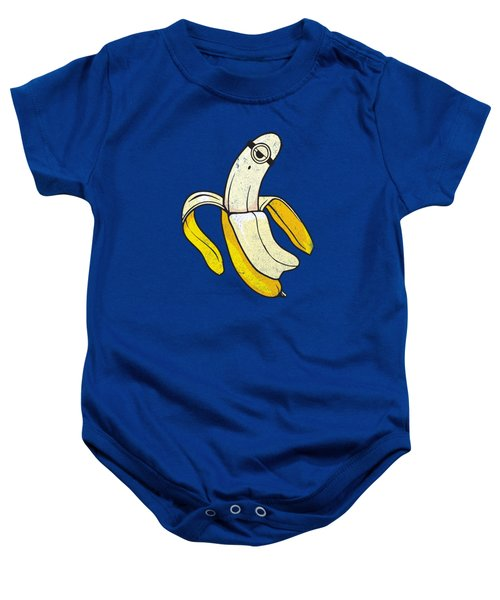 Banana Minion Ghost Baby Onesie by Illustratorial Pulse