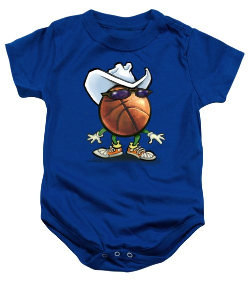 Basketball Cowboy Baby Onesie