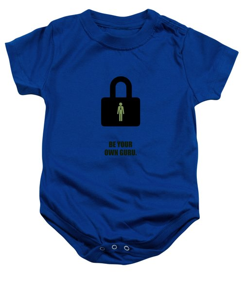 Be Your Own Guru Corporate Start-up Quotes Poster Baby Onesie