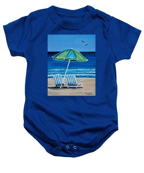 Beach Chair Bliss Baby Onesie
